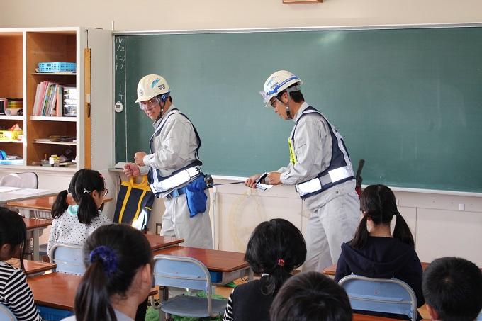 H28塩浜小学校出前授業1